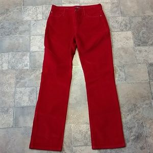 NYDJ Marilyn Straight corduroy pants
